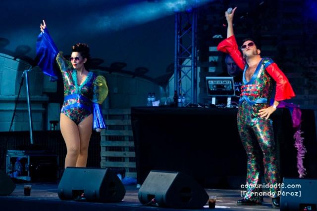Ladilla Rusa montó una discoteca en el Poble Espanyol