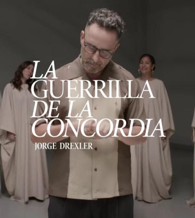Este 7 de julio, Jorge Drexler presenta «La guerrilla de la Concordia»