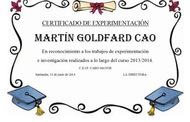 diplomaMartin