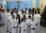 Coroinhas da Comunidade Santa Rosa de Lima