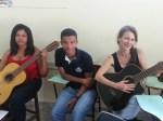 Emerson e alunas de violão - 2015