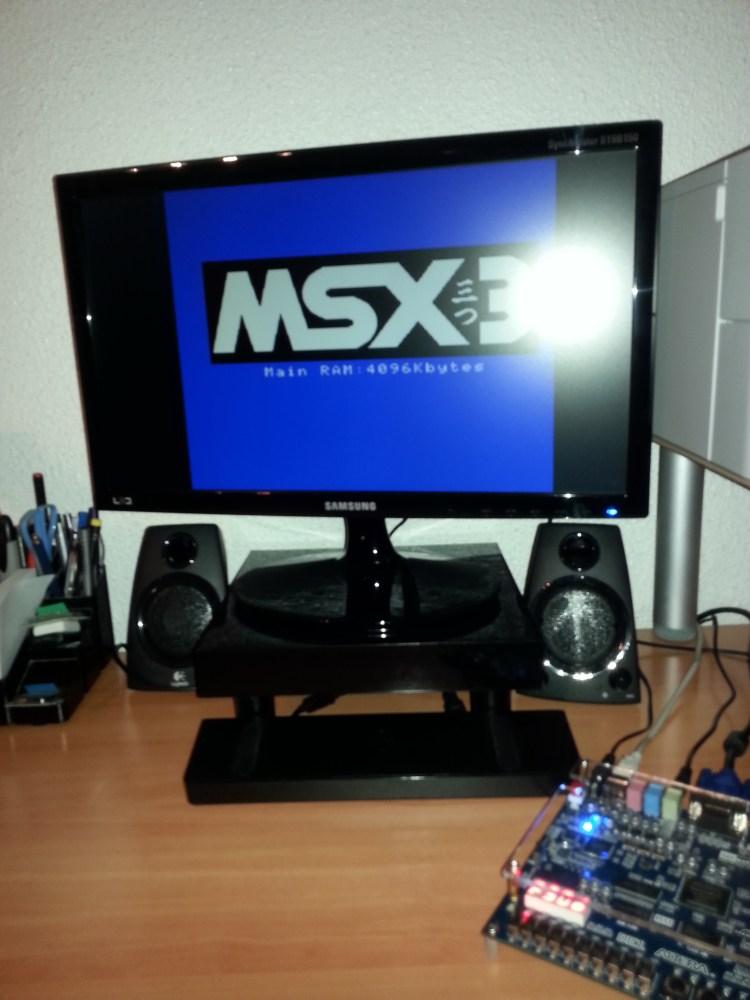 MSX con FPGA Altera DE1 sin conectores (5/6)