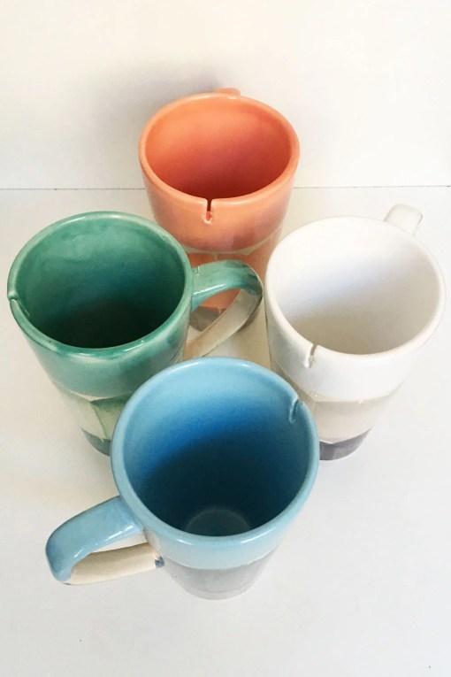 tazas hendija ideales para el té