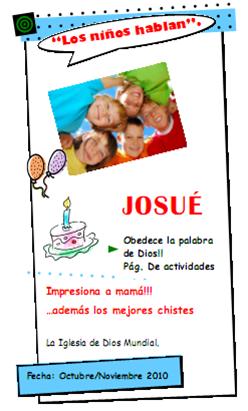 Josué – Los niños hablan No. 7
