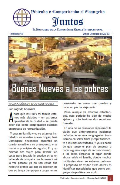 Noticiero Juntos No. 49