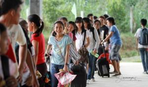 Campamento de jóvenes en Filipinas