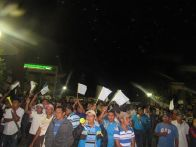 Manifestación pacífica. Foto: Fredy Gustavo Galvez Quim