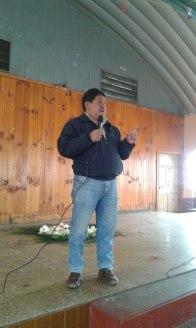 Alonzo Lainez, delegado Nación Mam (Comunidad Lingüística Mam)