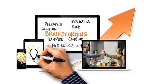 Brainstorming funktioniert auch online