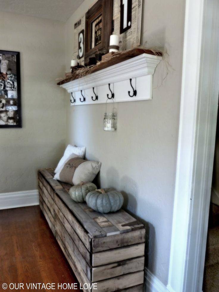 recibidores con encanto. Black Bedroom Furniture Sets. Home Design Ideas