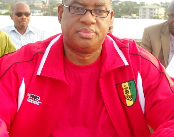 Salifou Camara Super V Président de la Feguifoot Fédération Guinéenne de Foot