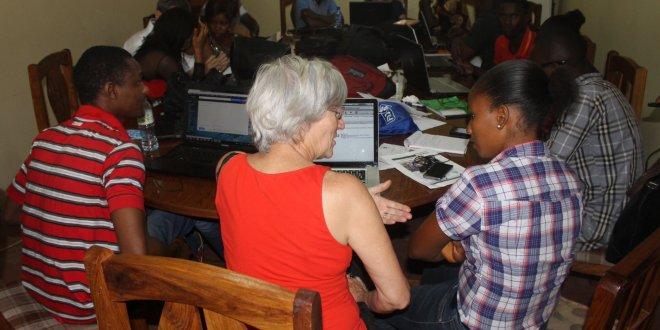 Formation de journalistes à Conakry