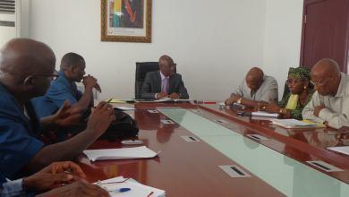 Ibrahima Kourouma Le Ministre de l'Enseignement Pré-Universitaire