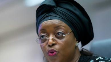L'ex-ministre du pétrole Diezani Alison-Madueke à Vienne, le 11 juin 2014 | AFP/Archives | JOE KLAMAR