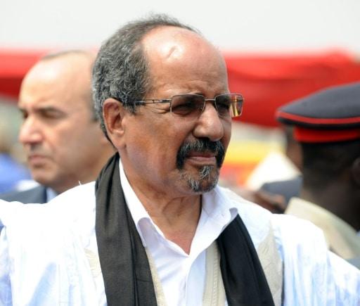 Le chef du Front Polisario Mohamed Abdelaziz a Accra au Ghana, le 7 janvier 2013   AFP/Archives   PIUS UTOMI EKPEI