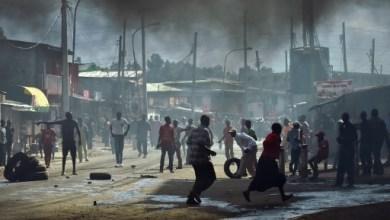 Une manifestation dans le bidonville de Kibera à Nairobi le 23 mai 2016   AFP/Archives   CARL DE SOUZA