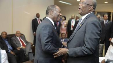 Roche Kaboré et Ouattara