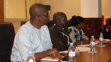 le ministre Monsieur Abdoulaye Magassouba