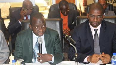 cérémonie de passation de charge entre Monsieur Nava Touré, Sécrétaire Général sortant et Monsieur Saadou Nimaga, ce 19 juillet 2016.