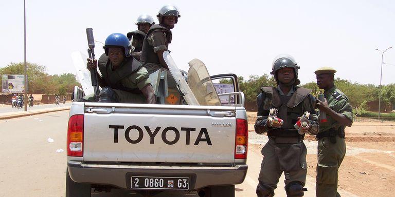 des-gendarmes-se-deploient-a-ouagadougou
