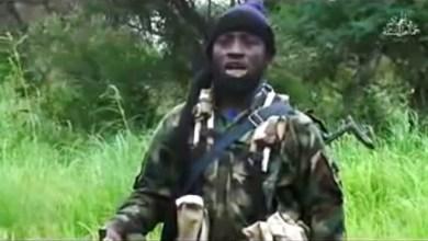 Capture d'écran du 8 août 2016 d'une vidéo de Boko Haram montrant son leader Abubakar Shekau   BOKO HARAM/AFP   HO, HO, HO