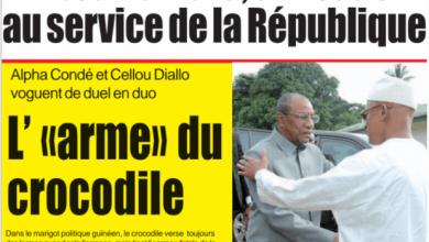 Tibou kamara un leader au service de la république