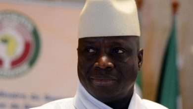 Le président gambien Yaya Jammeh,