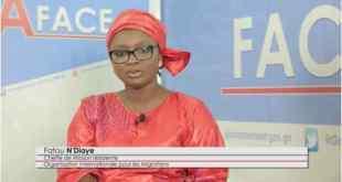 Fatou N'diaye d'OIM Guinée