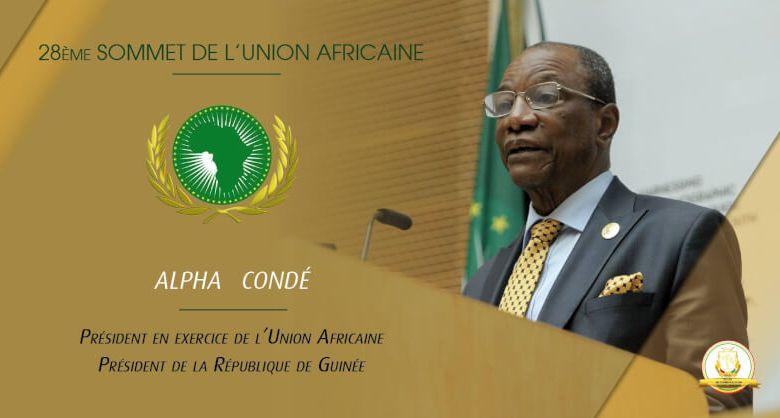 Alpha Condé Président de l'Union africaine