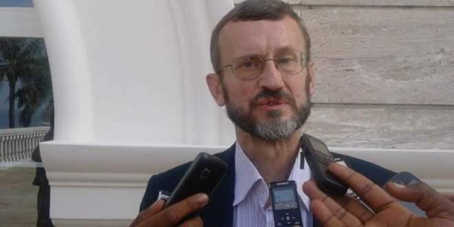le chef de la délégation de l'Union Européenne Gerardus Gielen