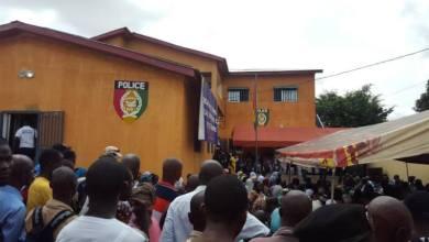 Commissariats de Police et de Police routière (Matoto)