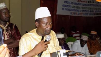 Fin de la formation des femmes musulmanes - le Secrétaire Général aux Affaires religieuses, Abdoul Karim Dioubaté