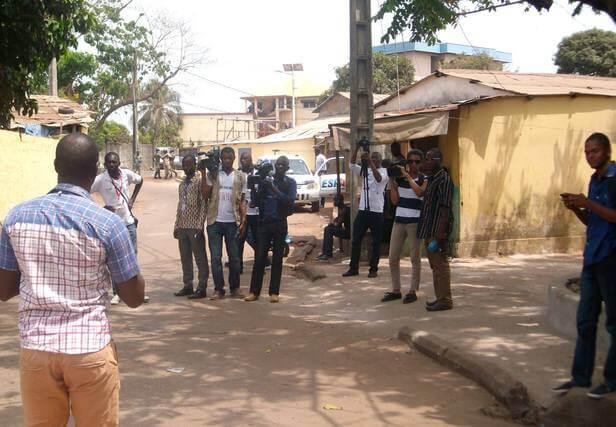 Journaliste Guinéen
