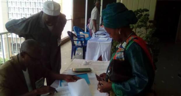 Élection de l'ordre national des pharmaciens de Guinée.