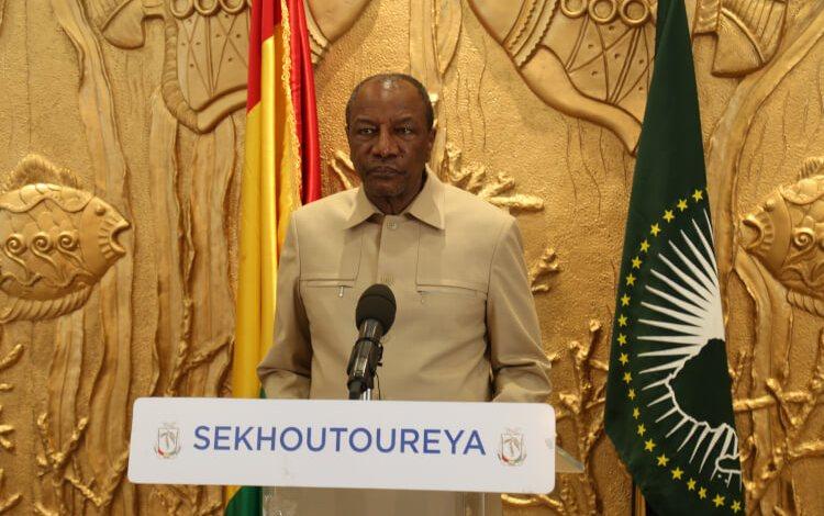 Fête de l'armée guinéenne Adresse du Chef de l'Etat