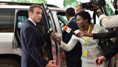 Le président français Emmanuel Macron quitte un sommet du G5 Sahel, à Bamako, le 2 juillet 2017 | POOL/AFP/Archives | CHRISTOPHE ARCHAMBAULT