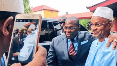 Le Premier Ministre Kassory Fofana et Cellou Dalein Diallo