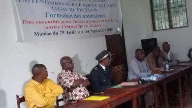 un atelier d'information et de sensibilisation des agents pénitentiaires se déroule à Mamou du 29 août au 1er septembre 2018.