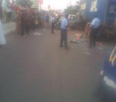 Grave accident ce jeudi matin à Coléah côté autoroute en face du cimetière Cameroun.