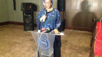 Madame Kanny Diallo, Ministre du Plan et du Développement Economique