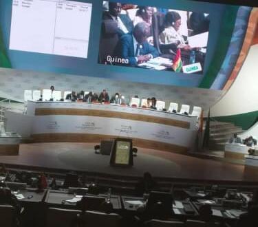 33ème sommet de l'Union Africaine.