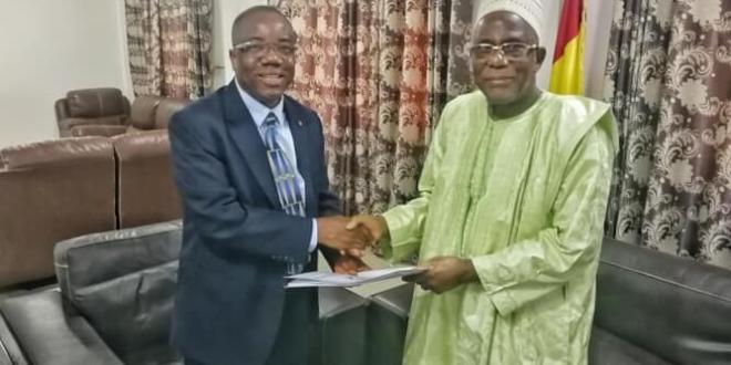 Garde des Sceaux de Guinée, Monsieur Mohamed Lamine Fofana
