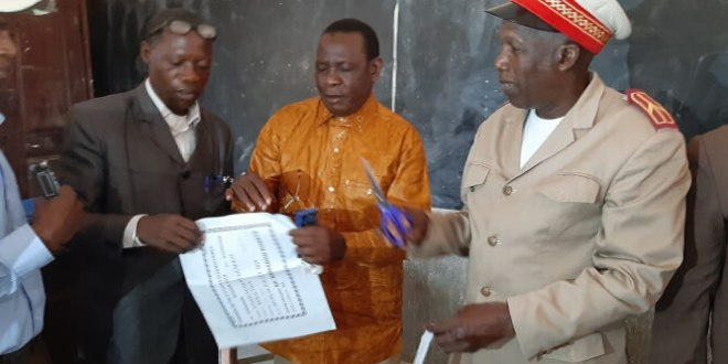 le Préfet N'Zérékoré El hadj Sory Sanoh.