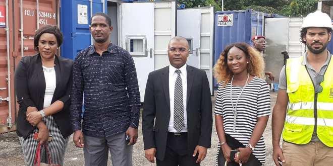 Visite des équipements offerts aux jeunes par le Chef de l'Etat pour leur permettre d'être des créateurs d'emploi