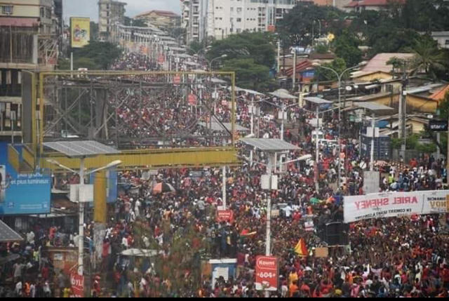 Manif FNDC en Guinée