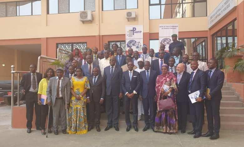Le Ministre de l'Economie et des Finances procède à l'inauguration du Centre de Perfectionnement en Finances Publiques.