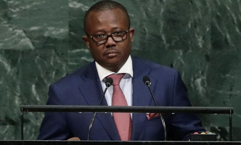 Le Président Embalo Guinée Bissau