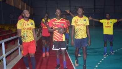 Les handballeurs guinéens