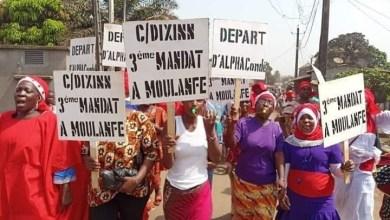manifestation des femmes FNDC
