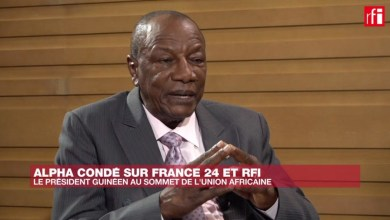 ALPHA CONDE SUR FRANCE 24 ET RFI